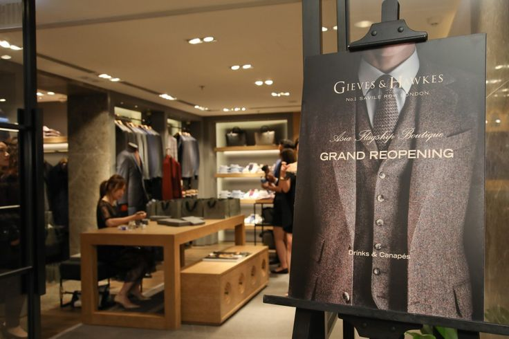 Gieves & Hawkes Asia Flagship Store At Harbour City Grand Reopening Cocktail Function  https://www.luxurialifestyle.com/gieves-hawkes-asia-flagship-store-at-harbour-city-grand-reopening-cocktail-function/