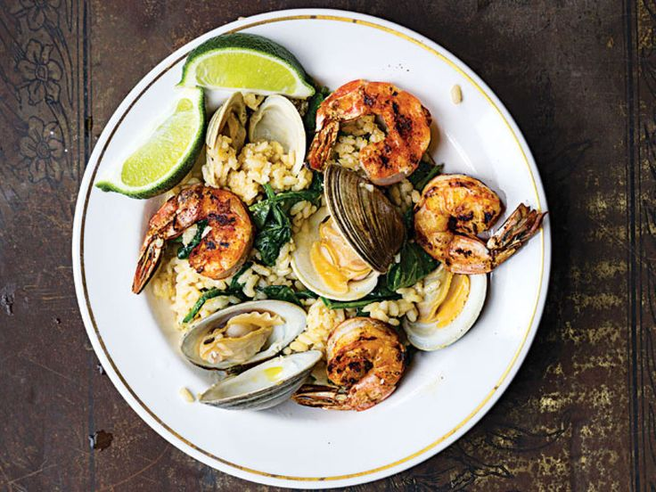 ... Recipes to Get You Chowdering Down   Clams, Grilled Shrimp and Risotto