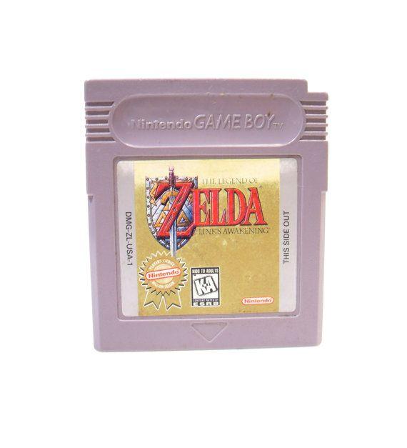The Legend of Zelda: Link's Awakening (Game Boy) - InsOddsOuts on Etsy