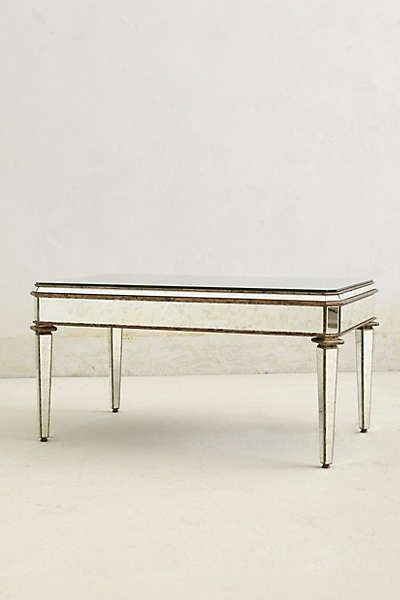 Anthropologie Mirrored Coffee Table For The Home Pinterest Home Furniture And