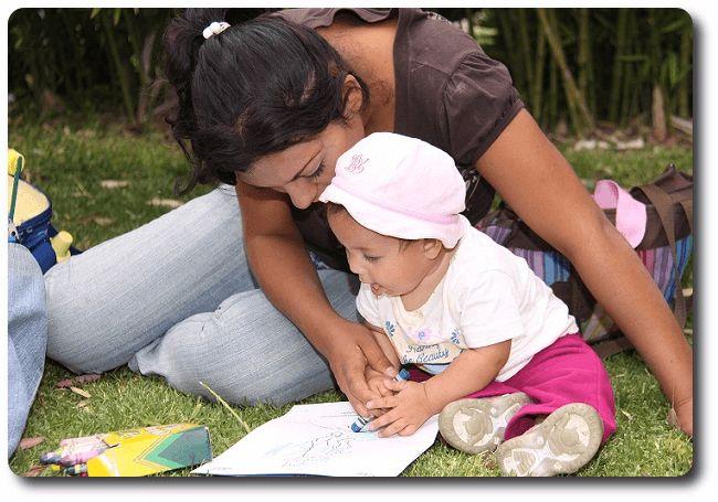 Madre adolescente en la escuela #educacion