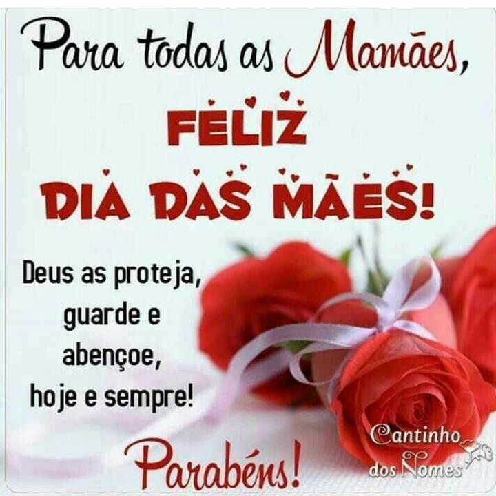 Mae Data Frase Para Todas As Mamaes Feliz Dia Das Maes Deus