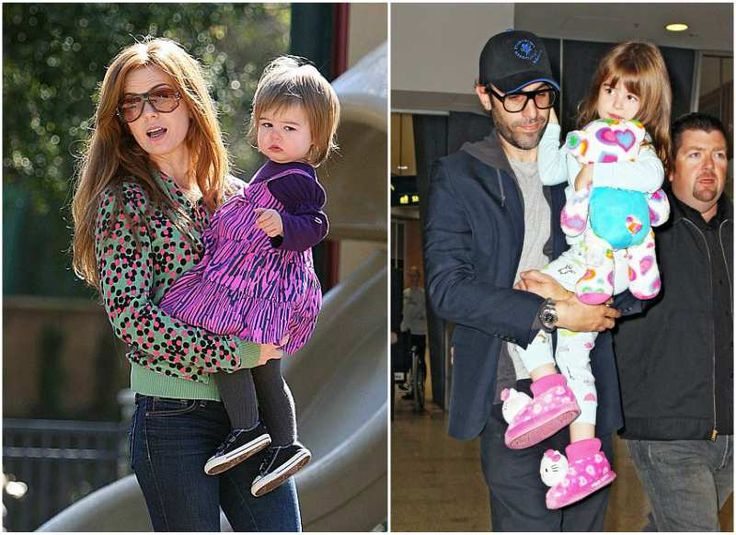Isla Fisher and Sacha Baron Cohen's kid - daughter Olive Baron Cohen