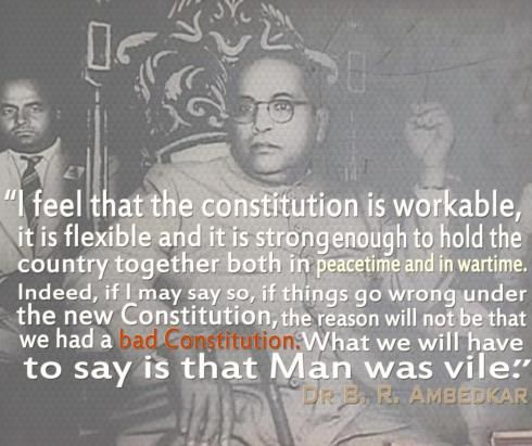 "Dr.B.R.Ambedkar- ""The Father of Indian Constitution"" 