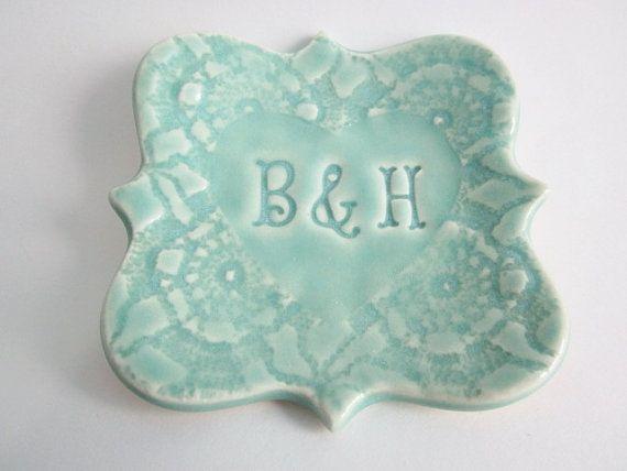 Ring holder, Bridal shower gift, Engagement present, Ring dish, Anniversary gift, Wedding gift, Valentines day gift on Etsy, $26.00