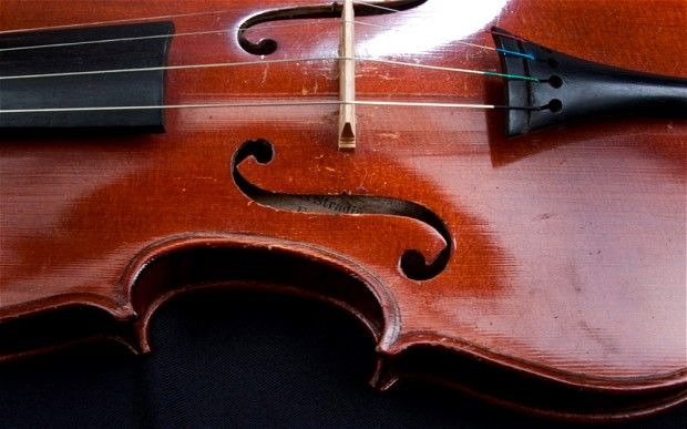 How to make a cheap violin sound like a Stradivarius.    Prof Francis Schwarze, of the Swiss Federal Laboratories for Materials, Science and Technology, has succeeded in modifying wood used for violin-making through treatment with two kinds of fungi:   ......Continue  article here   http://www.telegraph.co.uk/news/newstopics/howaboutthat/9532631/How-to-make-a-cheap-violin-sound-like-a-Stradivarius.html#