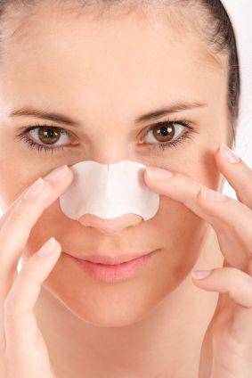 dra ut pormaskar med egengjord ansiktsmask