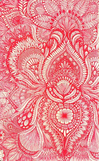 red Art Print by Yes Menu | Society6
