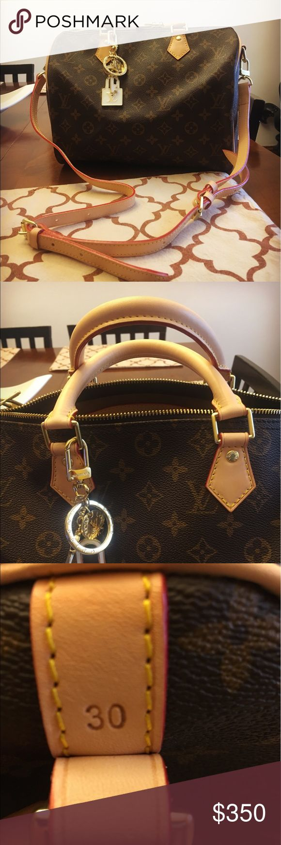 💙💙LV Speedy monogram 30💙💙 💙💙beautiful inspired LV speedy 30 bag , must have and will love , leather high end materials . 💙will be please with buy💙💙 Louis Vuitton Bags Shoulder Bags