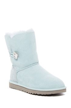 UGG Australia Bailey Button Bling Genuine Shearling Boot