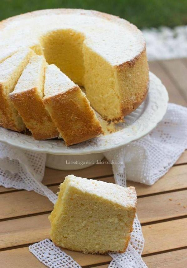 La bottega delle dolci tradizioni: Chiffon cake alla cannella