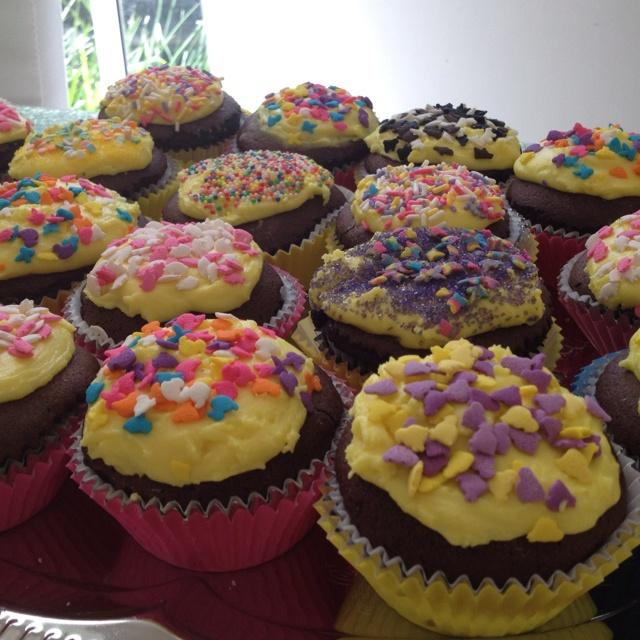 Gluten, Egg, Dairy, nut free cup cakes - www.facebook.com/aanaphylaxisaustralia