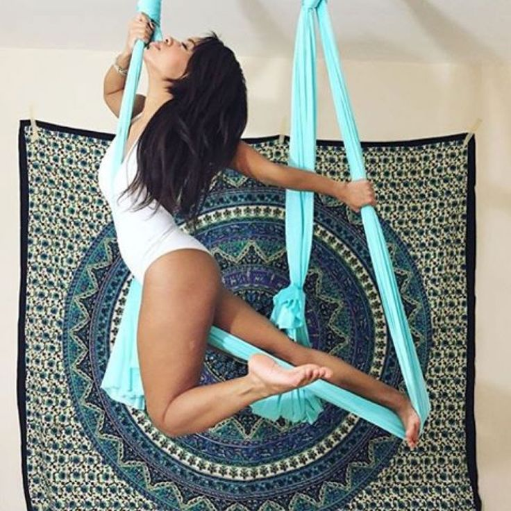 Premium Aerial Yoga Hammock Kit Includes Highest Rated Safety Hardware & Deluxe Professional Choice Fabric The best of everything you need for aerial yoga at home or in the studio! Decompress Your Spi