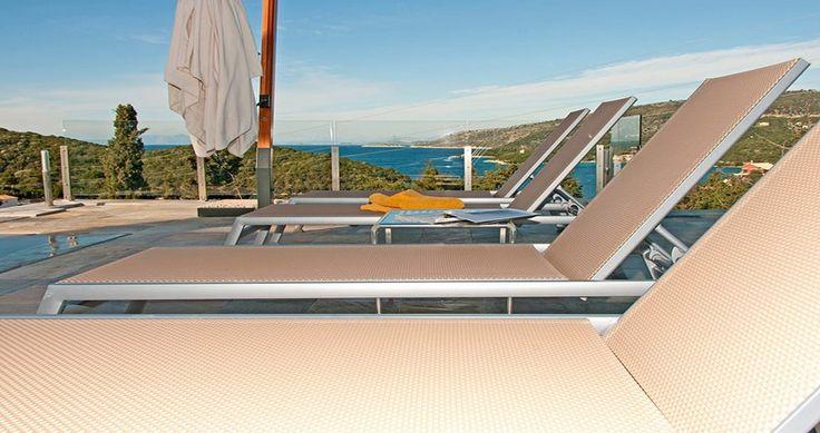 "Discover Villa ""Christina"", Syvota Island, Greece ! You can rent it ! #luxury #villa #rent #holidays #greece #vacances #grece #alouer #aroomwithaview #sea #bedroom #decoration #swimmingpool #beautiful #sunset #luxuryvilla"