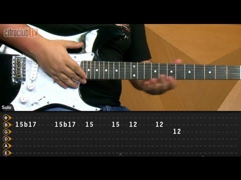 ▶ Can't Stop - Red Hot Chili Peppers (aula de guitarra) - YouTube