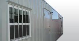 Custom Container Modifications | Customized Containers | Cargo Container Modifications  | Container Technology, Inc