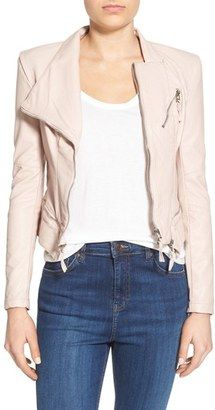 Shop Now - >  https://api.shopstyle.com/action/apiVisitRetailer?id=615092726&pid=uid6996-25233114-59 Women's Blanknyc Faux Leather Jacket  ...