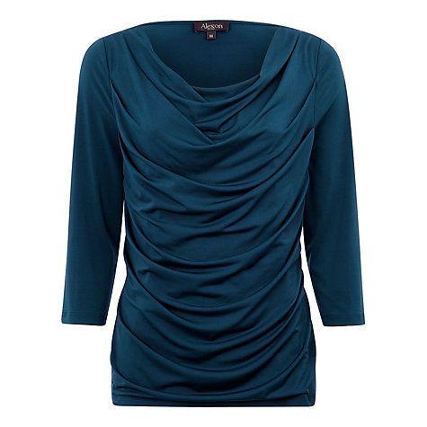 Buy Alexon Celia Cowl Neck Top Online at johnlewis.com