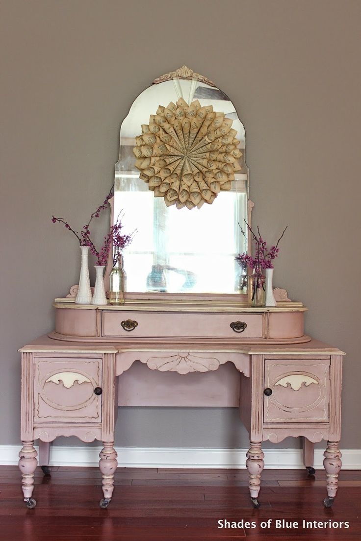 1024 best Pink  Coral Painted Furniture images on
