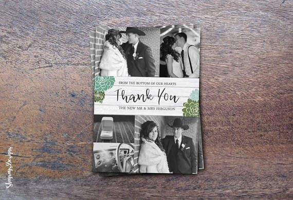Digital Wedding Invitation // Winter Succulent Wedding Invite // Floral Thank You Card // RSVP Response card // ShayraysDesigns Etsy Shop // Spring Botanical Wedding Decor // Invitation Printable Kit