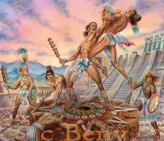 Gods And Warriors Books In Order: Tlahuicole, Surrounded By An Endless Horde Of Elite Aztec