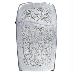 Zippo BLU Entwined Butane Lighter - 30037 by Zippo. $38.85. The BLU Collection from Zippo Lighters presents the next step in the evolution of the perfect flame. The engraved BLU Lighter uses butane gas for a clean-burning blue flame with no odor or aftertaste. This striking lighter features a brushed chrome finish and rotary engraved scrollwork. The new, smoother more comfortable shape requires only one-handed operation and features a distinctive Z-patterned chim...