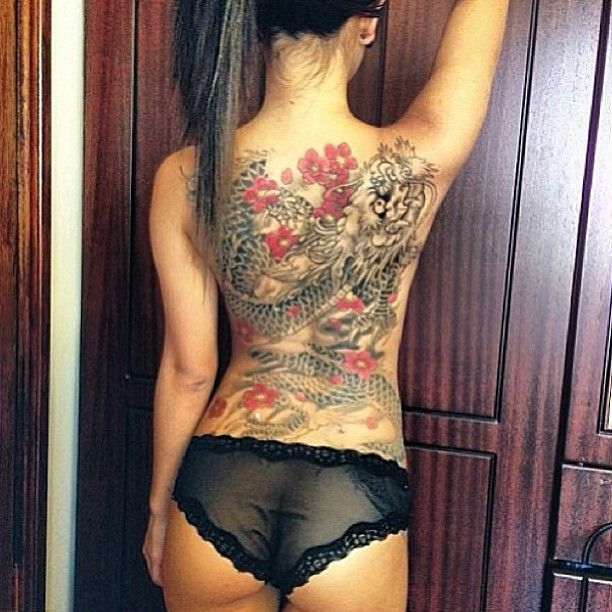 chinese dragon tattoo back - Google Search More