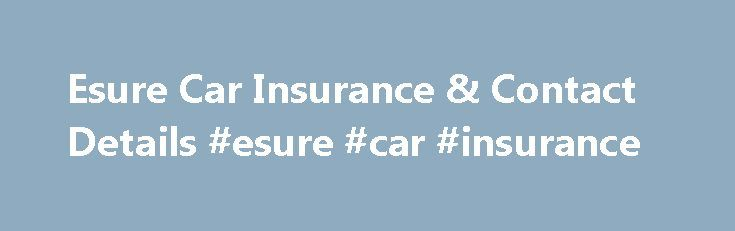 Esure Car Insurance & Contact Details #esure #car #insurance http://sierra-leone.remmont.com/esure-car-insurance-contact-details-esure-car-insurance/  # esure Car Insurance esure was founded in 2000 by Peter Wood, who saw selling insurance online as an effective way to streamline services, cut costs, and offer cheaper prices. He had launched Direct Line fifteen years earlier, to provide direct-to-customer value when selling insurance over the phone, and wanted to offer the same service to…