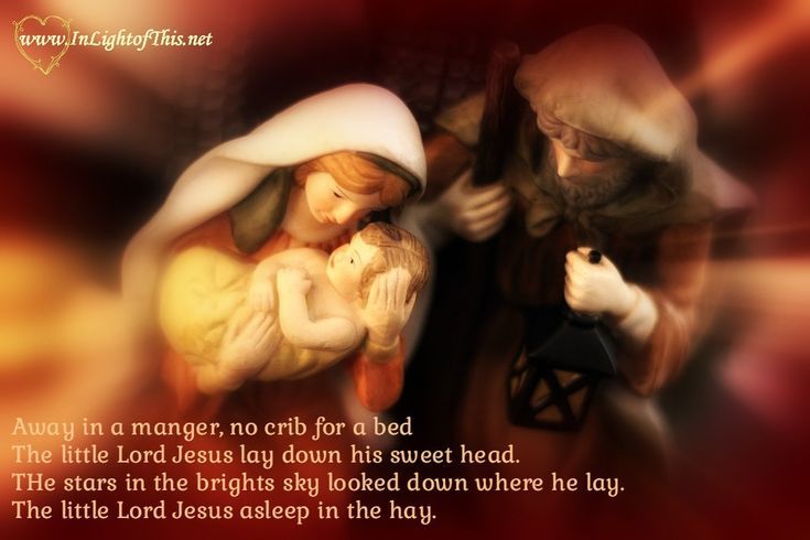 He is more than a baby in a manger. He is loving Savior and almighty King. The world will embrace a baby - but will it embrace a king? O Come adore him.