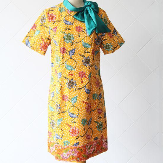 Batik Tulis Cirebon Kombinasi Satin | Ukuran Pundak: 37; Bahu: 11; Lingkar Badan: 92; Lingkar Pinggang: 90; Panjang Lengan: 24; Panjang Blouse: 90 | Rp 500.000