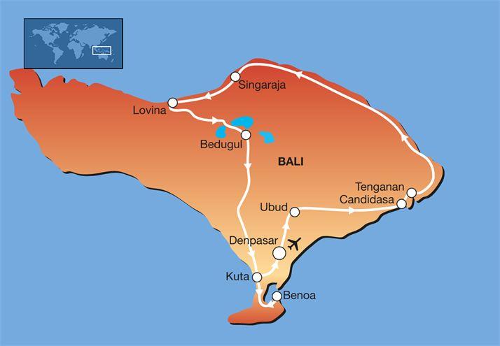 Ontwerp uw reis: 15-daagse privé rondreis Bali - Privéreis Indonesië en Bali   FOX.nl