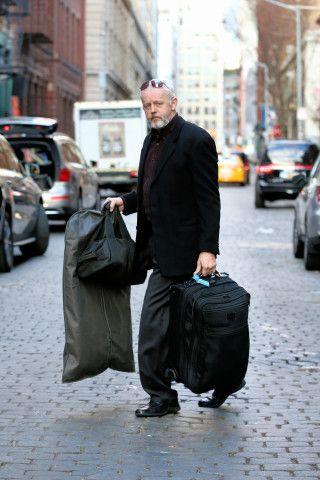 David Morse Sighting in New York, New York on 12/16/15 at 6:10 PM at Crosby Street Hotel