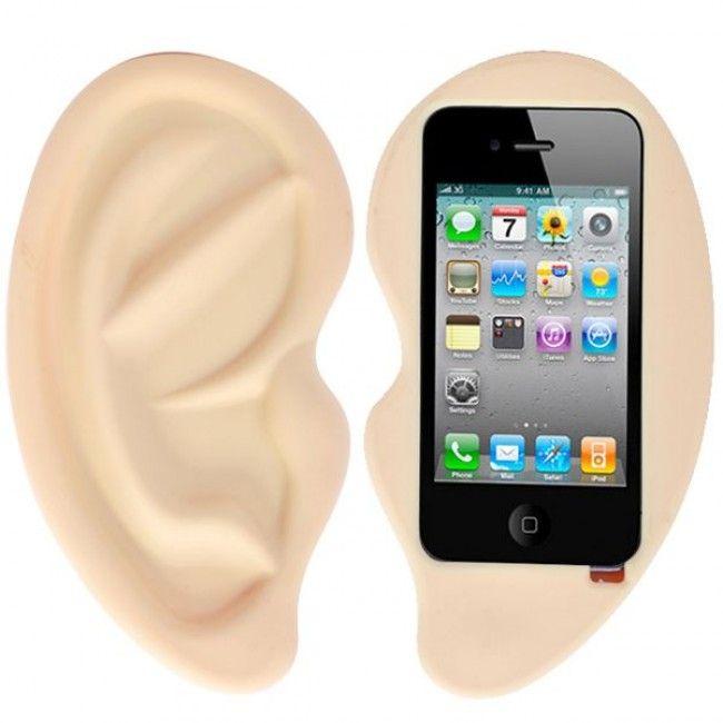 Korva iPhone 4S Silikonisuojus (Hiekka) - http://lux-case.fi/korva-iphone-4s-silikonisuojus-hiekka.html