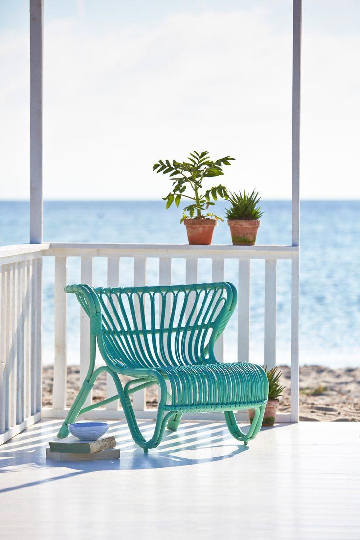 FOX chair by Viggo Boesen in a beautiful summer colour - Mint green.
