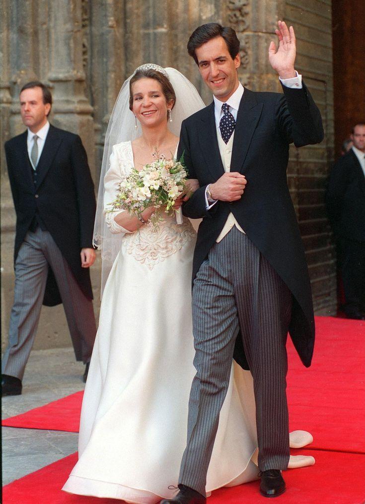 18. März 1995: Das Brautkleid von Prinzessin Elena stammt