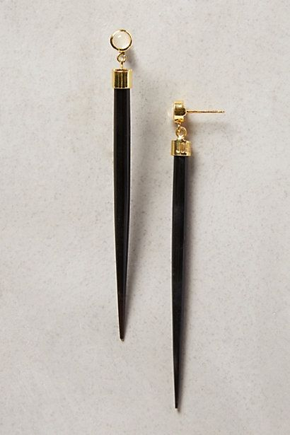 Hashi Horn Earrings - anthropologie.com