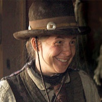 Calamity Jane--played by robin Weigert