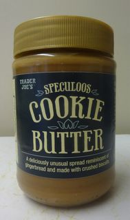 Trader Joe's Cookie Butter. This is amazing. It has officially become my all-purpose PKU-friendly peanut butter substitute.