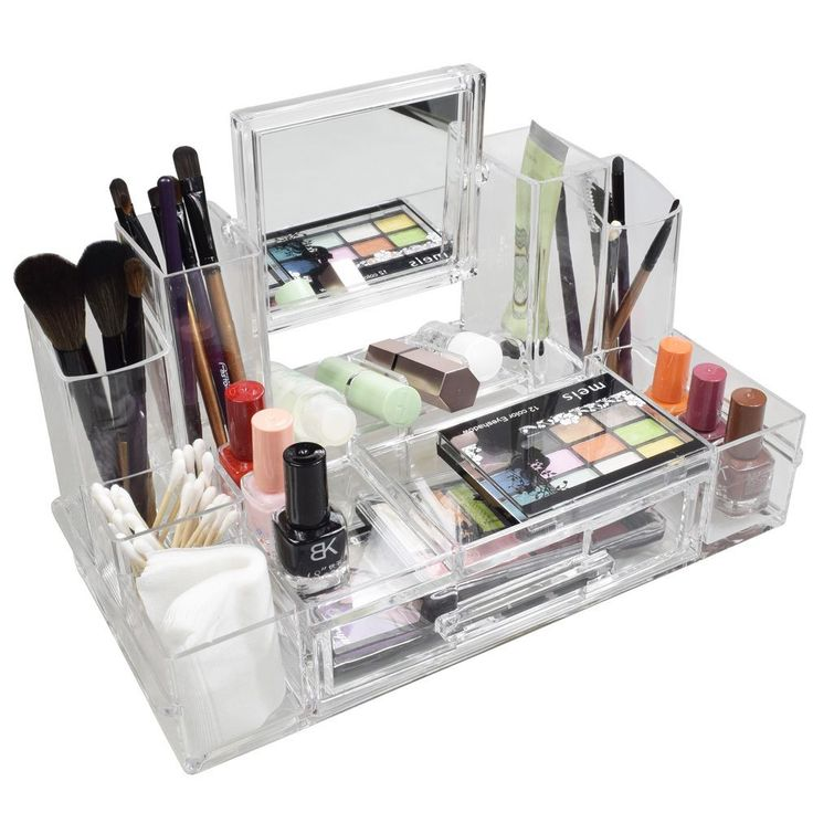 1000 ideas about acrylic makeup organizers on pinterest. Black Bedroom Furniture Sets. Home Design Ideas