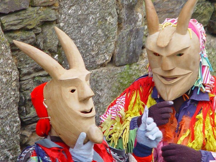 Winter equinox festivities of northeaster Portugal: Caretos de Lazarim