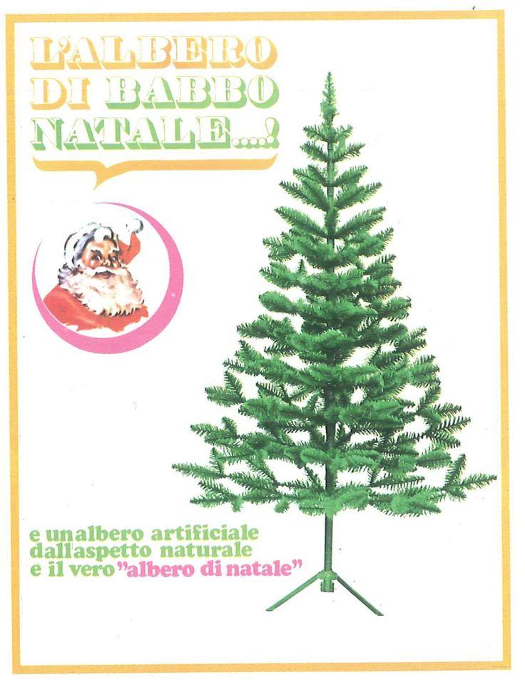 UN ALBERO DI NATALE MORANDUZZO NEL 1977