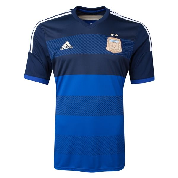 The adidas Argentina 2014 Away Soccer Jersey