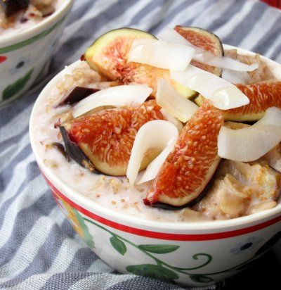 The Oatmeal Artist: Coconut, Honey, and Fig Oatmeal @Montagne Jeunesse ...