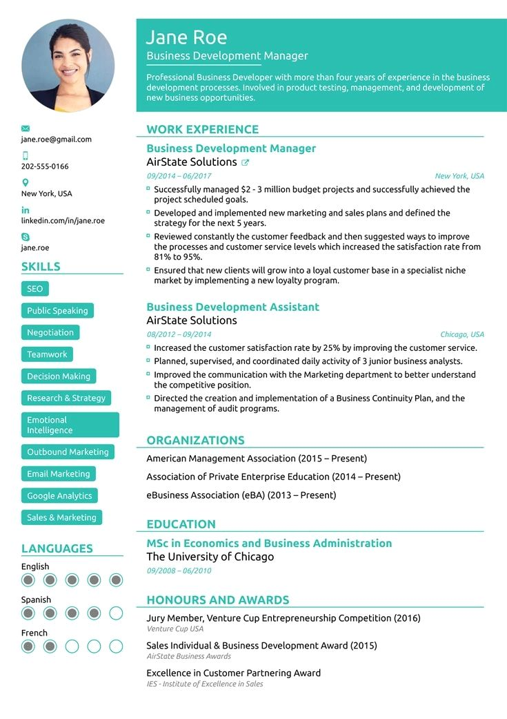 8 Best Online Resume Templates Of 2019 Download Customize 8 Best Online Resume Templates Of 2019 Download Cust Curriculum Vitae Word Cv Finance Emploi
