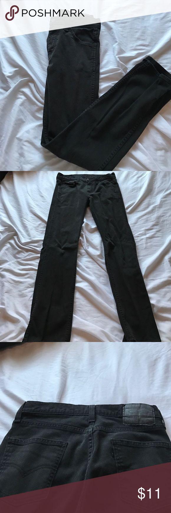 Black Levi's pants Slim straight: length 32 Levi's Jeans Slim Straight