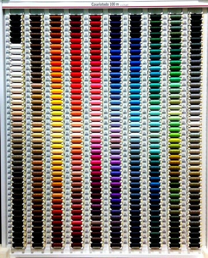 ¡Adelanto de hilos! Arrancaremos con un buen surtido de colores y modelos: el coselotodo de Gütermann, extra fuertes, degradados, para bordar, metalizados, elásticos, de hilvanar, lino o tipo jeans. ¿Qué os parece?  #novedades #hilos #costura #coser #sewing #aguja #mercería #merceríacreativa #oviedo #surtido