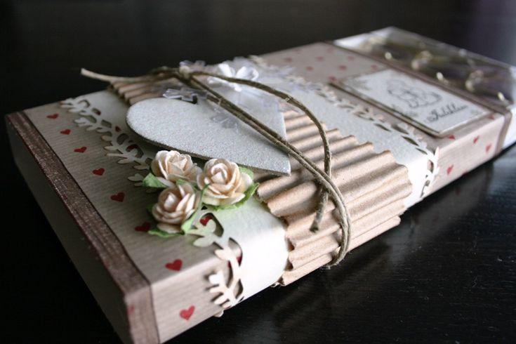 Decorated toffifee box - Scrapbook.com