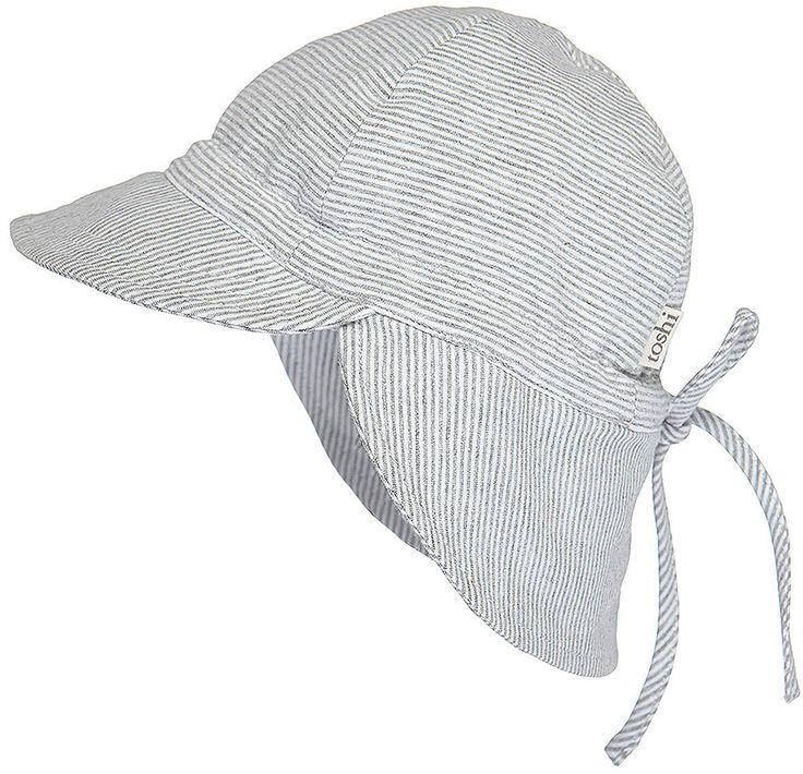 Toshi - Flap Cap Baby Dove
