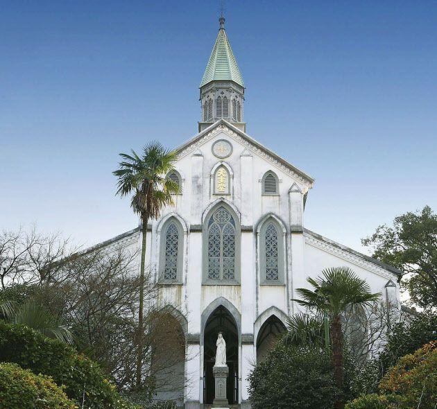 Ohura-tenshudou    長崎教会群、大浦天主堂