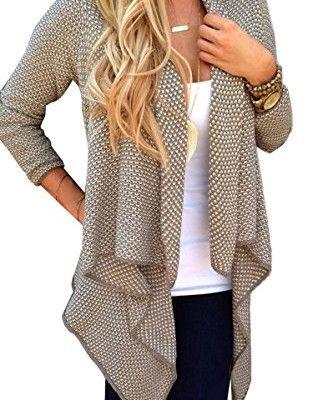 Zeagoo-Damen-sommer-Strickjacke-Cardigan-Jacke-Mantel-Outwear-Tops-0